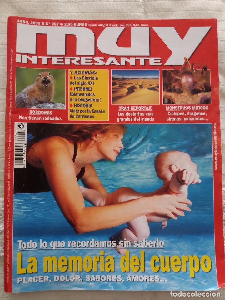 MUY INTERESANTE -Nº 287 ABRIL 2005 (Coleccionismo - Revistas y Periódicos Modernos (a partir de 1.940) - Revista Muy Interesante)