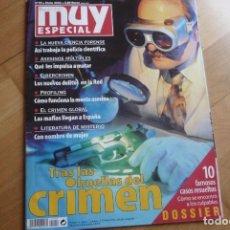 Coleccionismo de Revista Muy Interesante: MUY ESPECIAL 59.TRAS LAS HUELLAS DEL CRIMEN.. Lote 102421507