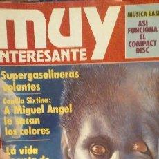 Coleccionismo de Revista Muy Interesante: LOTE REVISTAS MUY INTERESANTE. Lote 103084487