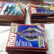 Coleccionismo de Revista Muy Interesante: REVISTA MUY INTERESANTE - 81 NÚMEROS. Lote 104640286