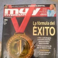 Coleccionismo de Revista Muy Interesante: REVISTA MUY INTERESANTE N 386 - JULIO 2012. Lote 110684251