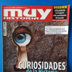 Coleccionismo de Revista Muy Interesante: REVISTA MUY HISTORIA N° 16 2008. CURIOSIDADES DE LA HISTORIA.. Lote 110742975
