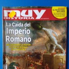 Coleccionismo de Revista Muy Interesante: REVISTA MUY HISTORIA N° 64 2015. LA CAÍDA DEL IMPERIO ROMANO. (ROMA). Lote 179212023