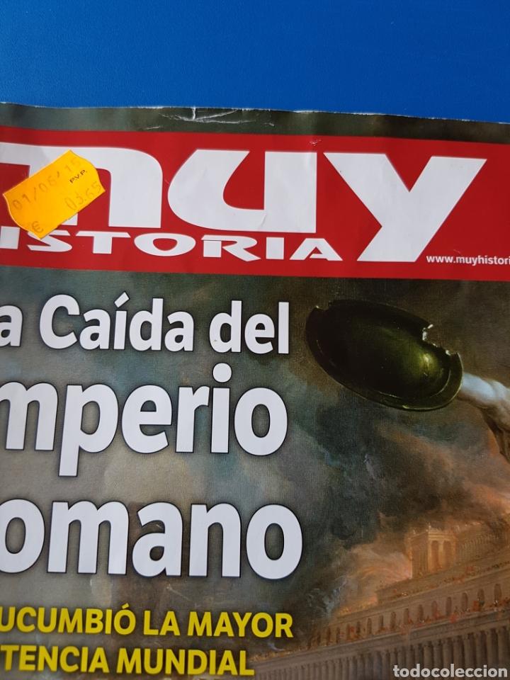 Coleccionismo de Revista Muy Interesante: REVISTA MUY HISTORIA N° 64 2015. LA CAÍDA DEL IMPERIO ROMANO. (ROMA) - Foto 2 - 179212023