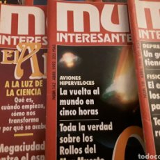 Coleccionismo de Revista Muy Interesante: MUY INTERESANTE, LOTE DE 12 REVISTAS. Lote 111382334
