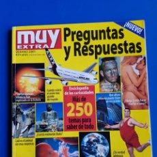 Coleccionismo de Revista Muy Interesante: PREGUNTAS Y RESPUESTAS - MUY INTERESANTE EXTRA - VERANO 2001. Lote 111453759