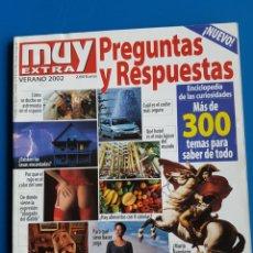 Coleccionismo de Revista Muy Interesante: PREGUNTAS Y RESPUESTAS - MUY INTERESANTE EXTRA - VERANO 2002. Lote 111454068