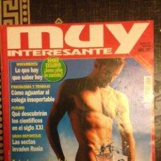 Collectionnisme de Magazine Muy Interesante: REVISTA MUY INTERESANTE Nº 191 - LOS SECRETOS DE LA ERECCION - LAS SECTAS. Lote 111711207