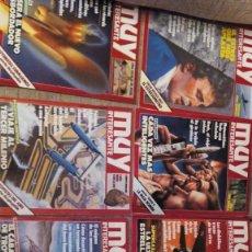 Coleccionismo de Revista Muy Interesante: REVISTAS MUY INTERESANTE AÑOS 1983-1992. Lote 112608635