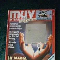 Coleccionismo de Revista Muy Interesante: REVISTA MUY INTERESANTE Nº 60. EXTRA 5º ANIVERSARIO. Lote 112912383