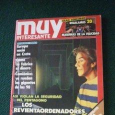 Coleccionismo de Revista Muy Interesante: REVISTA MUY INTERESANTE Nº 102. Lote 113008823