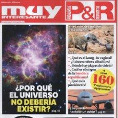 Coleccionismo de Revista Muy Interesante: MUY INTERESANTE PREGUNTAS & RESPUESTAS N. 45 (NUEVA). Lote 180247342