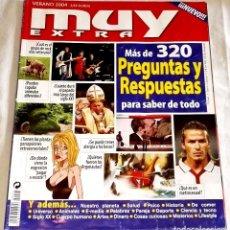 Coleccionismo de Revista Muy Interesante: EXTRA MUY INTERESANTE, PREGUNTAS Y RESPUESTAS - VERANO 2004. Lote 118275711