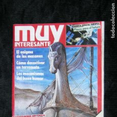 Coleccionismo de Revista Muy Interesante: F1 MUY INTERESANTE Nº 73 AÑO 1987 EL CABALLO DE TROYA ERA UN BARCO. Lote 118277535