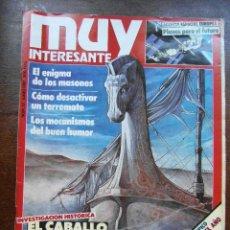 Coleccionismo de Revista Muy Interesante: REVISTA MUY INTERESANTE Nº 73. JUNIO 1987. MASONES, TERREMOTOS, CABALLO DE TROYA. Lote 118340223