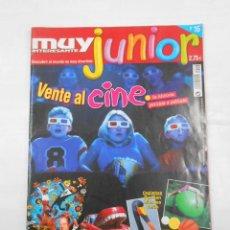 Coleccionismo de Revista Muy Interesante: MUY INTERESANTE JUNIOR Nº 16. VENTE AL CINE. TDKC34. Lote 118378739