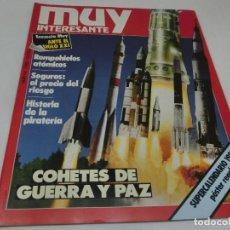 Coleccionismo de Revista Muy Interesante: REVISTA MUY INTERESANTE Nº 44 ENERO 1985. Lote 118394575
