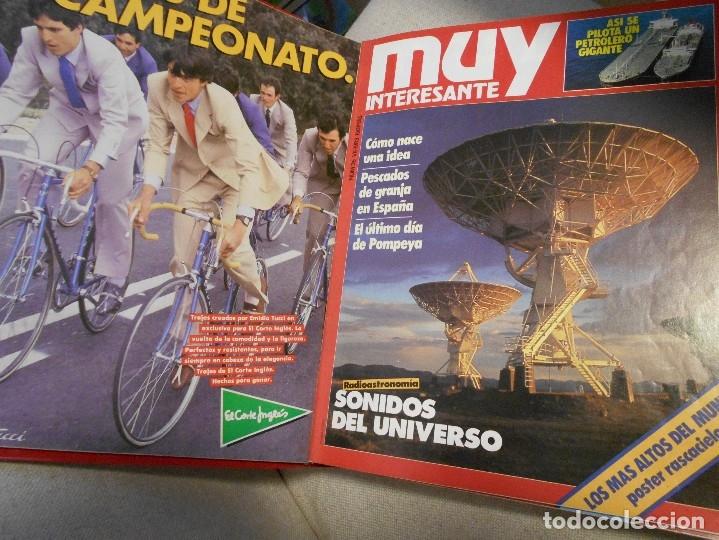 Coleccionismo de Revista Muy Interesante: MUY INTERESANTE. ARCHIVADOR CON 12 REVISTAS. NUMEROS 25 A 36. AÑO1 1983/84. 2600 GRAMOS. - Foto 3 - 48878473