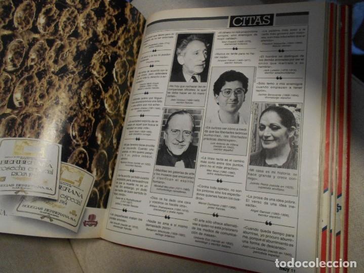 Coleccionismo de Revista Muy Interesante: MUY INTERESANTE. ARCHIVADOR CON 12 REVISTAS. NUMEROS 25 A 36. AÑO1 1983/84. 2600 GRAMOS. - Foto 7 - 48878473