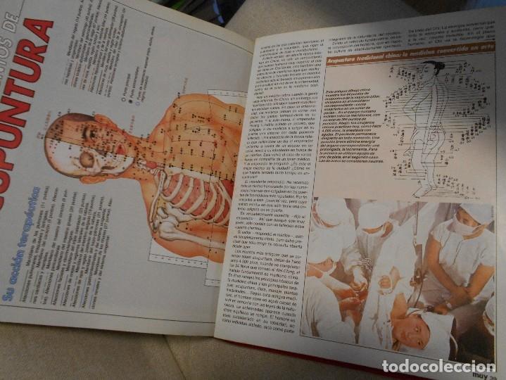 Coleccionismo de Revista Muy Interesante: MUY INTERESANTE. ARCHIVADOR CON 12 REVISTAS. NUMEROS 25 A 36. AÑO1 1983/84. 2600 GRAMOS. - Foto 9 - 48878473