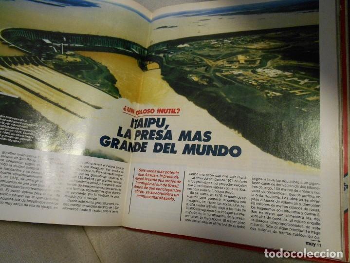 Coleccionismo de Revista Muy Interesante: MUY INTERESANTE. ARCHIVADOR CON 12 REVISTAS. NUMEROS 25 A 36. AÑO1 1983/84. 2600 GRAMOS. - Foto 10 - 48878473