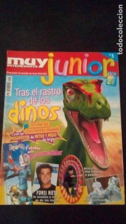 REVISTA MUY INTERESANTE JUNIOR. Nº 5. FONSI NIETO (Coleccionismo - Revistas y Periódicos Modernos (a partir de 1.940) - Revista Muy Interesante)