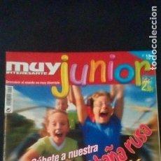 Coleccionismo de Revista Muy Interesante: REVISTA MUY INTERESANTE JUNIOR. Nº 10. CARLOS CASTELL. Lote 118689303