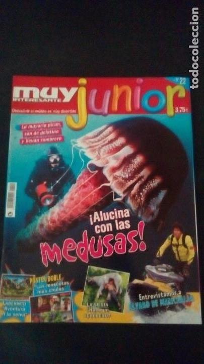 REVISTA MUY INTERESANTE JUNIOR. Nº 22. ALVARO DE MARICHALAR (Coleccionismo - Revistas y Periódicos Modernos (a partir de 1.940) - Revista Muy Interesante)