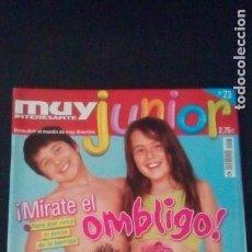 Coleccionismo de Revista Muy Interesante: REVISTA MUY INTERESANTE JUNIOR. Nº 23. ABRAHAM OLANO. Lote 118689579