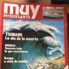 Coleccionismo de Revista Muy Interesante: COLECCION MUY INTERESANTE 47 EJEMPLARES . AÑOS 80. Lote 118816535