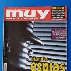 Coleccionismo de Revista Muy Interesante: REVISTA MUY HISTORIA N° 10 2007. GRANDES ESPIAS DE LA HISTORIA. Lote 120027342
