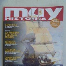 Coleccionismo de Revista Muy Interesante: MUY INTERESANTE HISTORIA , Nº 97 : AVENTUREROS DE LO IMPOSIBLE, ELCANO, MAGALLANES, VIKINGOS, ETC. Lote 143886790