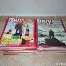 Coleccionismo de Revista Muy Interesante: LOTE DE 56 REVISTAS EJEMPLARES MUY INTERESANTE. Lote 122770499