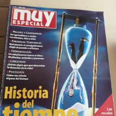 Coleccionismo de Revista Muy Interesante: REVISTA MUY ESPECIAL N°55 \ HISTORIA DEL TIEMPO. Lote 130666143