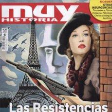 Coleccionismo de Revista Muy Interesante: MUY HISTORIA-LAS RESISTENCIAS EN LA II GUERRA MUNDIAL. Lote 130669313