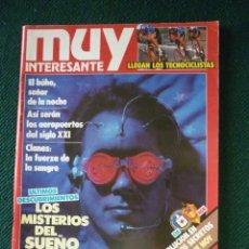 Coleccionismo de Revista Muy Interesante: REVISTA MUY INTERESANTE Nº 109. Lote 132324006