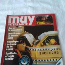 Coleccionismo de Revista Muy Interesante: 95-REVISTA MUY INTERESANTE Nº 55 DICIEMBRE 1985. Lote 134240646
