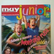 Coleccionismo de Revista Muy Interesante: REVISTA MUY INTERESANTE JUNIOR AGOSTO 2005 Nº 10. Lote 134384658