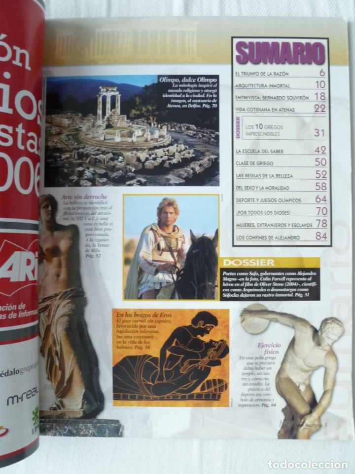Coleccionismo de Revista Muy Interesante: MUY HISTORIA Nº 7 2006 LA GRECIA ANTIGUA - Foto 2 - 134391546