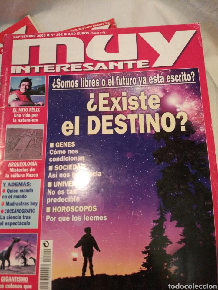 Coleccionismo de Revista Muy Interesante: LOTE DE TRES REVISTAS MUY INTERESANTE, VER - Foto 2 - 134452389