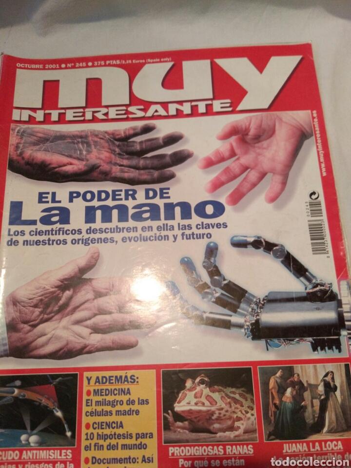 Coleccionismo de Revista Muy Interesante: LOTE DE TRES REVISTAS MUY INTERESANTE, VER - Foto 3 - 134452389