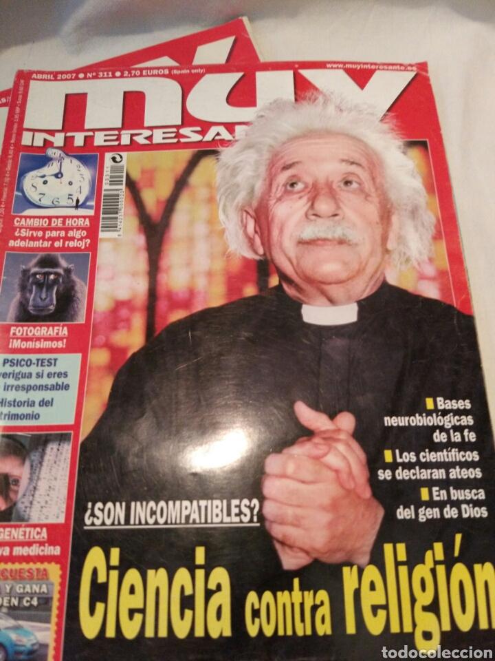 Coleccionismo de Revista Muy Interesante: LOTE DE TRES REVISTAS MUY INTERESANTE, VER - Foto 4 - 134452389