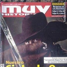 Coleccionismo de Revista Muy Interesante: MUY HISTORIA, 9. 2007. EL SIGLO DE ORO. Lote 134452802