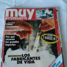 Coleccionismo de Revista Muy Interesante: 177-REVISTA MUY INTERESANTE Nº 77 OCTUBRE 1987. Lote 134550494