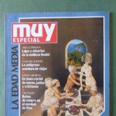 Coleccionismo de Revista Muy Interesante: REVISTA MUY INTERESANTE. ESPECIAL LA EDAD MEDIA. Nº 5. PRIMAVERA 1991.. Lote 135037614