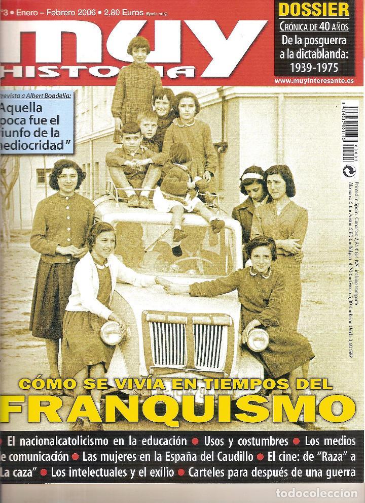 REVISTA MUY INTERESANTE. CÓMO SE VIVÍA EN TIEMPOS DEL FRANQUISMO (Coleccionismo - Revistas y Periódicos Modernos (a partir de 1.940) - Revista Muy Interesante)