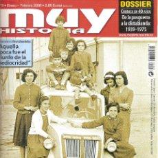 Coleccionismo de Revista Muy Interesante: REVISTA MUY INTERESANTE. CÓMO SE VIVÍA EN TIEMPOS DEL FRANQUISMO. Lote 135497126