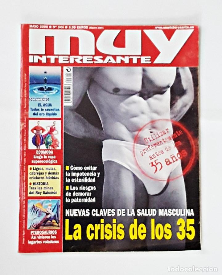 REVISTA MUY INTERESANTE Nº 324 MAYO 2008. (Coleccionismo - Revistas y Periódicos Modernos (a partir de 1.940) - Revista Muy Interesante)