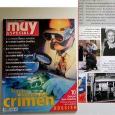 Coleccionismo de Revista Muy Interesante: MUY INTERESANTE ESPECIAL TRAS LAS HUELLAS DEL CRIMEN REVISTA 59 - CASOS CRÍMENES CRIMINALES ASESINOS. Lote 135866781