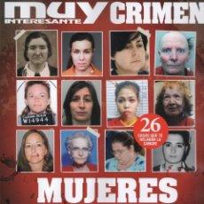 Coleccionismo de Revista Muy Interesante: MUY INTERESANTE CRIMEN N. 5 - EN PORTADA: MUJERES ASESINAS (NUEVA). Lote 210963281